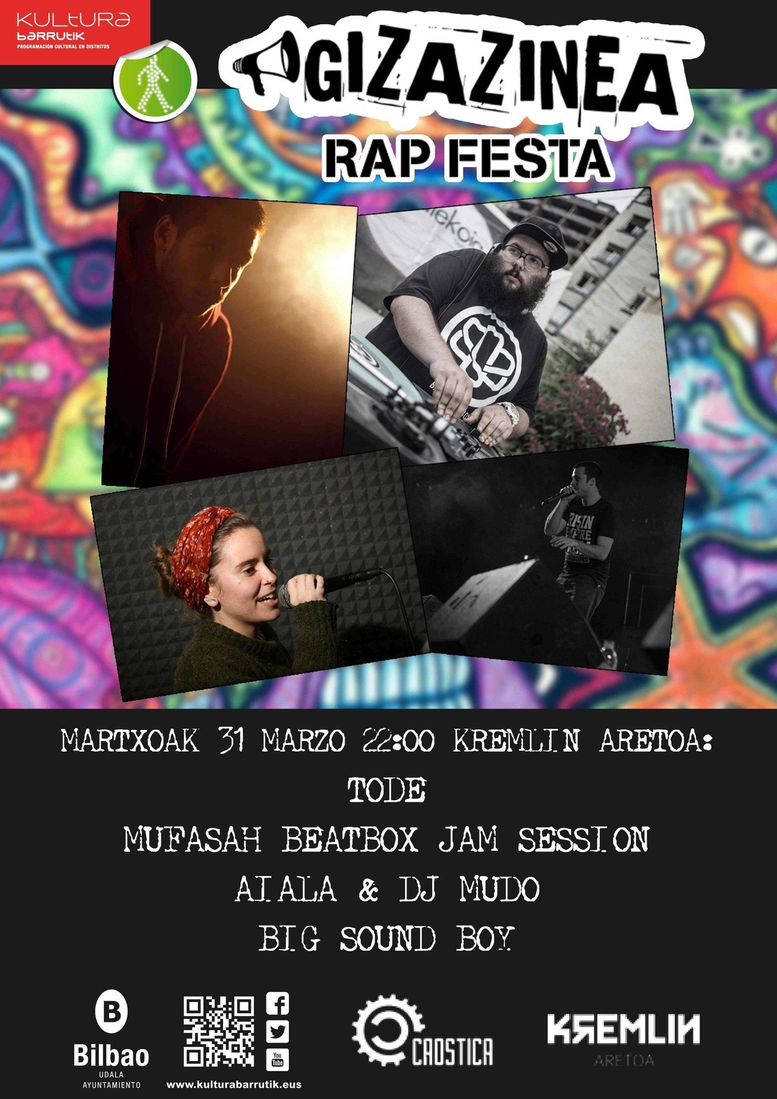 Gizazinea Rap Festa