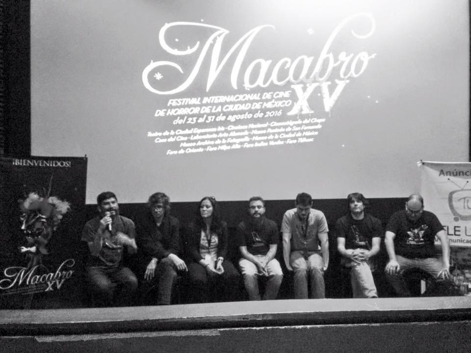 "Mesa Redonda sobre ""Festivales de Cine de género"" en Macabro 15"