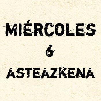 MIÉRCOLES 6