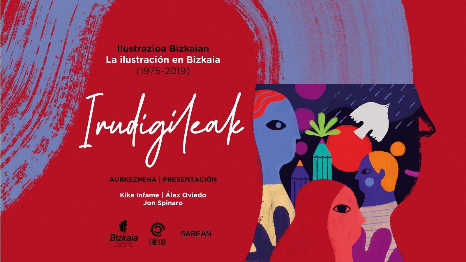 Presentación del libro «Irudigileak: ilustrazioa Bizkaian. La ilustración en Bizkaia (1975-2019)»